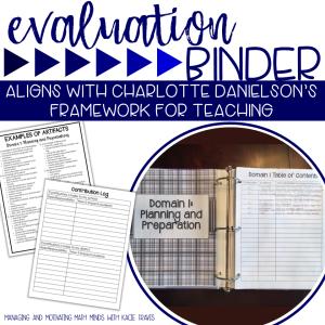 Blue Evaluation Binder