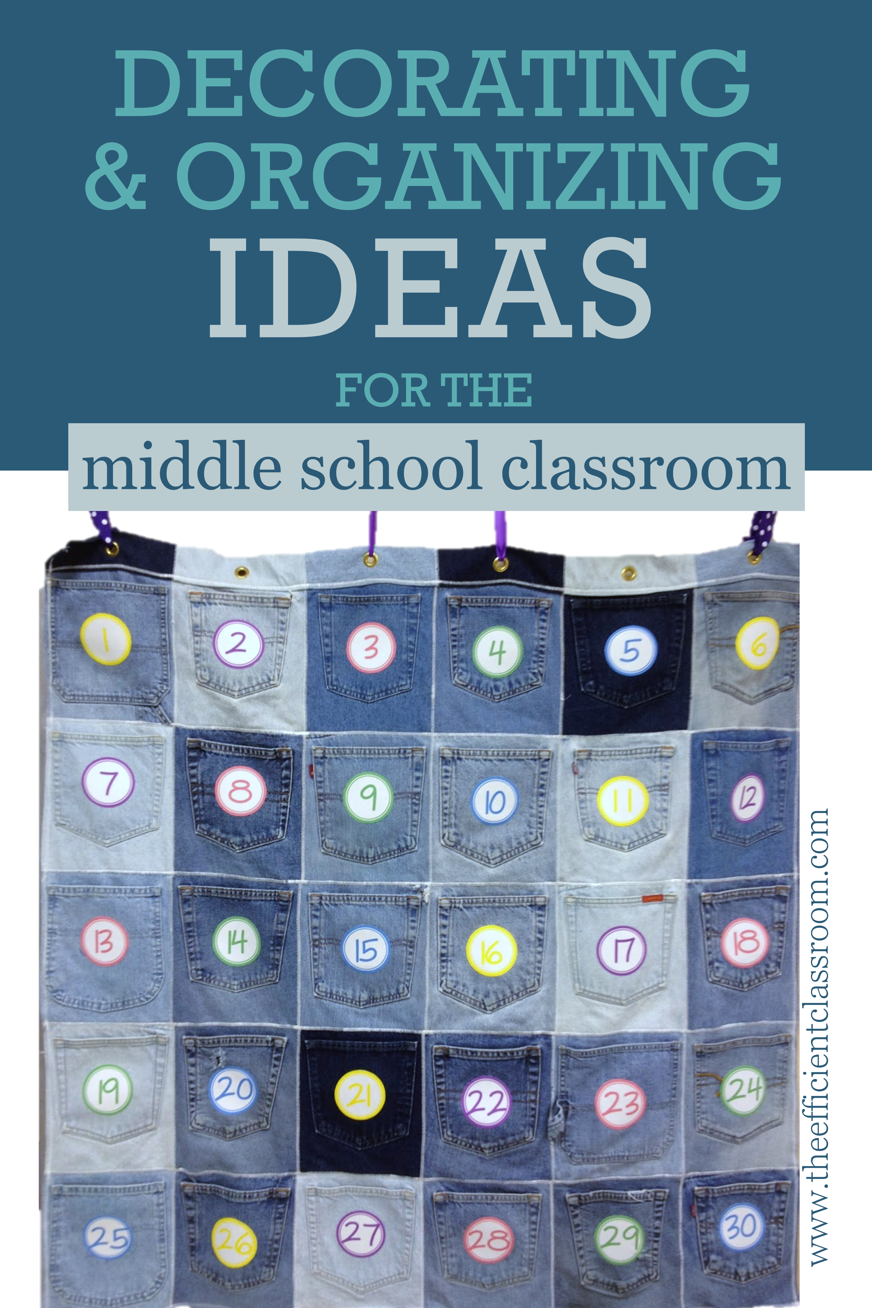 Decorating & Organizing in Middle School