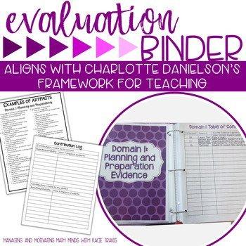 Purple Evaluation Binder