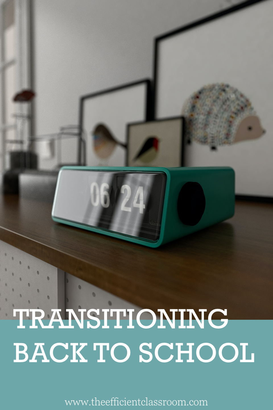 Transitioning Back to School for Teachers